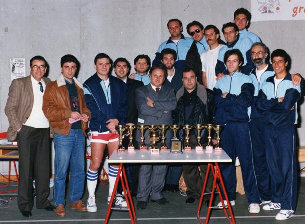 il primo team SC Gravina